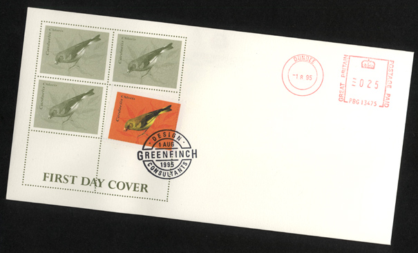 Gfinch1stDayCover