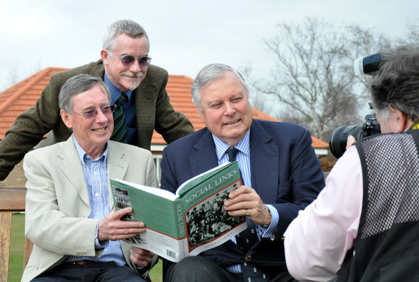 Peter Alliss launches latest book