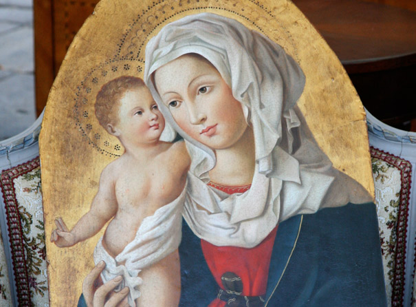 In search of the Madonna …